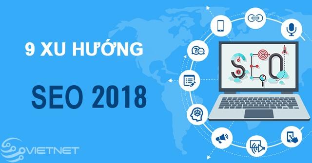 9 xu hướng SEO của năm 2018