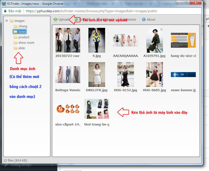 Bài 3: Hướng dẫn thêm ảnh vào bài viết và ảnh hiển thị