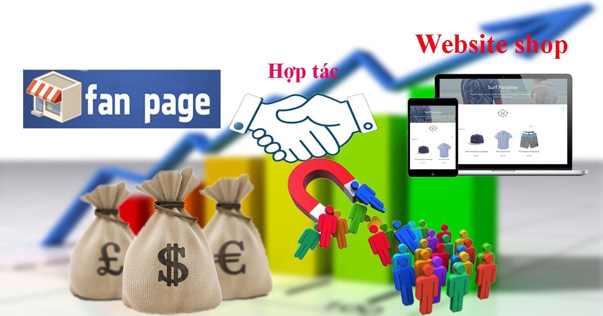 SIÊU LỢI NHUẬN NHỜ KẾT HỢP FANPAGE FACEBOOK VÀ WEBSITE